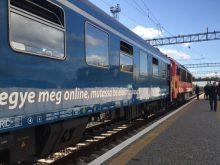«Інтерсіті» з Будапешта прибув у Мукачево