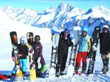 Перший збір на снігу провели закарпатські сноубордисти