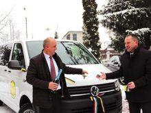 Нове авто від угорських благодійників отримав Свалявський дитячий будинок