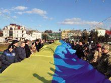З нагоди Дня соборності в Ужгороді пройде хода зі стометровим прапором