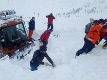 На Рахівщині снігова лавина накрила групу туристів. Один, на жаль, загинув