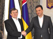 Без краваток спілкувалися керівники Саболч-Сатмар-Берег  і Закарпатської областей