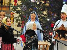 Із благою звісткою завітали на Закарпаття юні колядники зі Словаччини