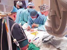 Уперше в краї провели ендопротезування аорти