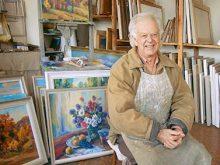Відомому живописцю Йосипу Бабинцю виповнилося 85