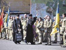 Бійці 128-ї бригади повернулися додому