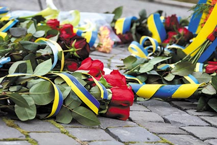 Пам'ять Кобзаря вшанували квітами