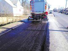 Трасу, що веде до кордону  з Угорщиною, почали ремонтувати