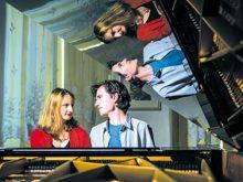 «Симфонію двох роялів»  зіграють Катерина Шапран і Балаж Фазекаш