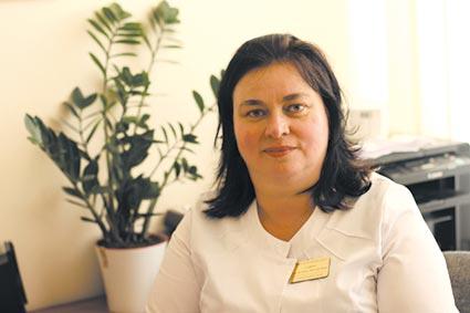 В «інфекційці» інфекції  не варто боятися, запевняє Андріанна Савич