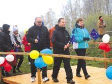 На українсько-польському кордоні урочисто відкрили тимчасовий пішохідний перехід «Лубня – Волосате»