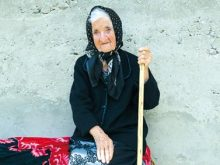 102 РОКИ ВІДЗНАЧИЛА Олена Алб із Глибокого Потоку