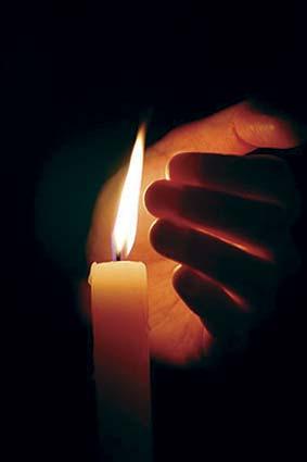 Не забудьте запалити свічку!