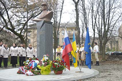 В Ужгороді відкрили пам'ятник словацькому державному діячу