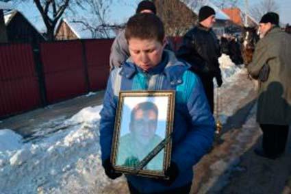 У Тячеві поховали учасника АТО Сергія Панька