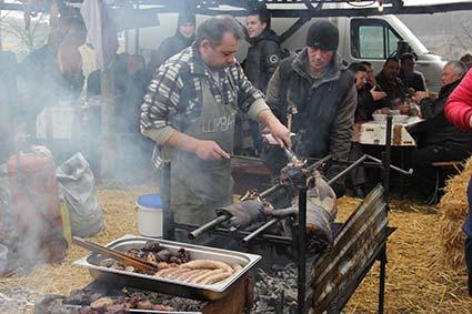 11 лютого в селі Геча відбувся фест гентешів