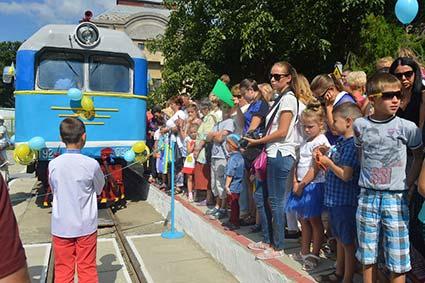1 травня дитяча залізниця відкриє сезон