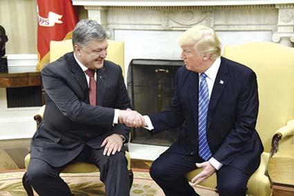 Офіційний візит Президента України в США: досягнуто важливих домовленостей