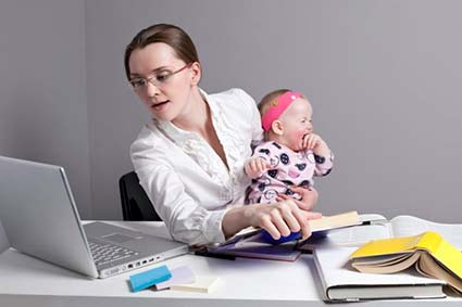 Працююча мама –