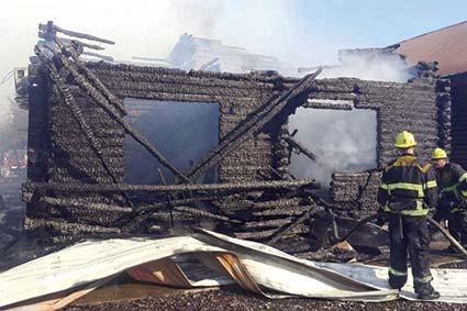 У Солотвині пожежа на турбазах