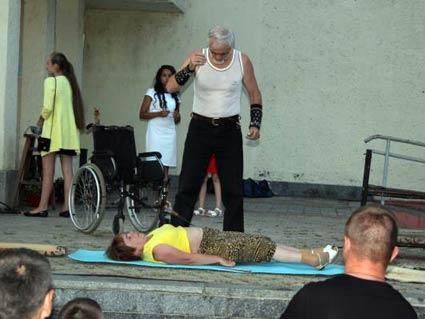 «Свято сили»  в Іршаві втретє присвятили всесвітньо відомому Кротону