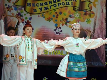 У вихідні пройшов «Весняний бал в Ужгороді»